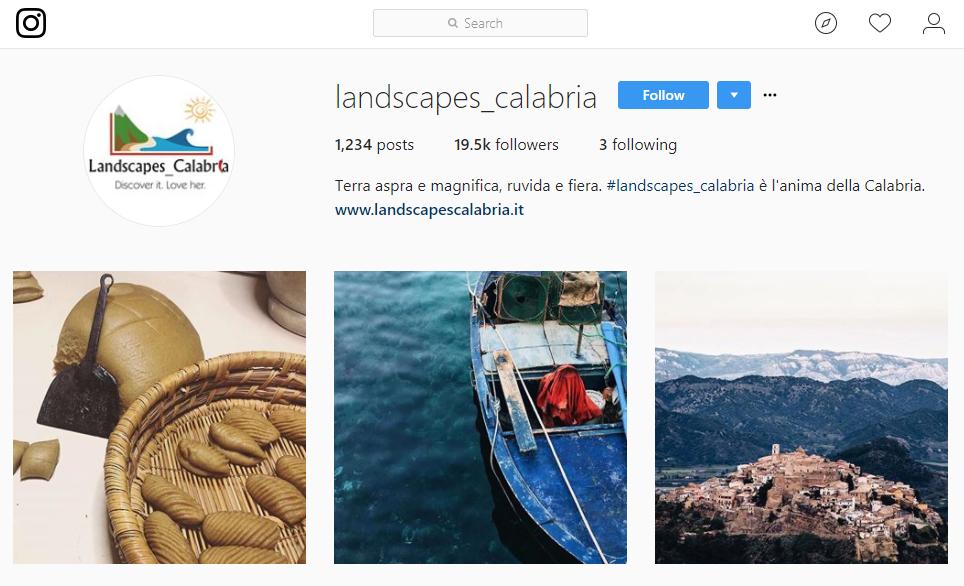 Instagram in Calabria: Landscapes_Calabria